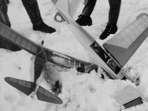 Crash Oskar Sack und Ernst Neufels