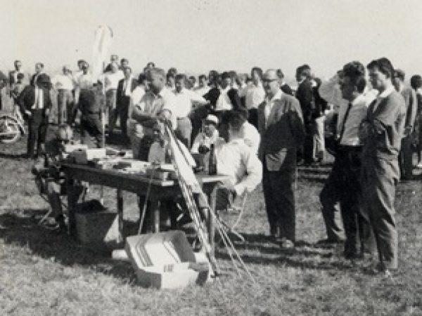 Flugtag 03.09.1961 Katharinenberg-Bild 6 Punktrichter